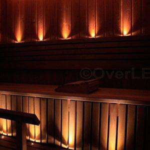 SaunaLED 6-9-12 fényponttal