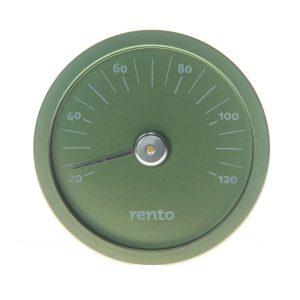 Rento hőmérő, zöld