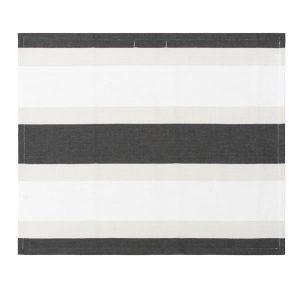 Rento padkendő, fekete-fehér, 50x60cm